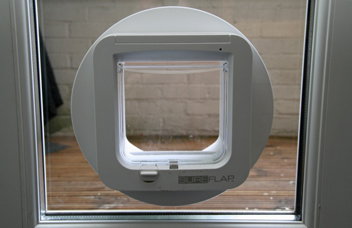 Feltham glass works supply and fit glass repairs for west for Upvc french doors with cat flap